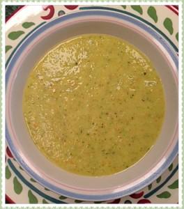zucchini soup pretty